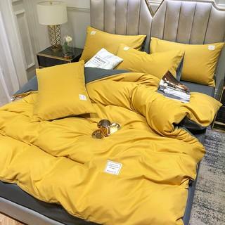 Cách lựa chăn ga giường màu vàng phù hợp với không gian phòng ngủ hiện đại