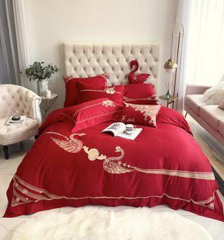 Tại sao nên mua chăn ga giường màu đỏ cho ngày tân hôn ?
